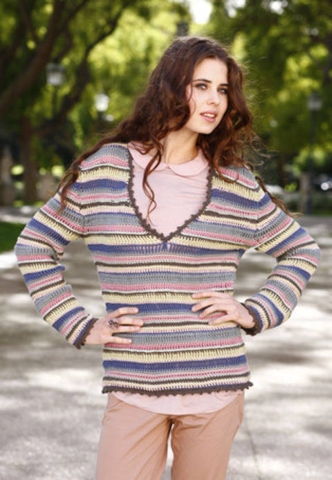 Paola Pull, Pull-over chez Makerist