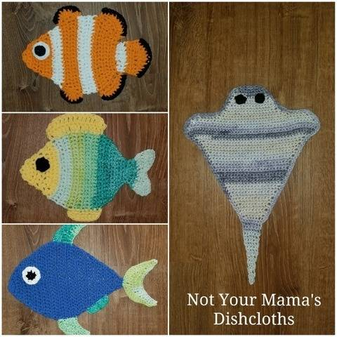 Not Your Mama's Dishcloths