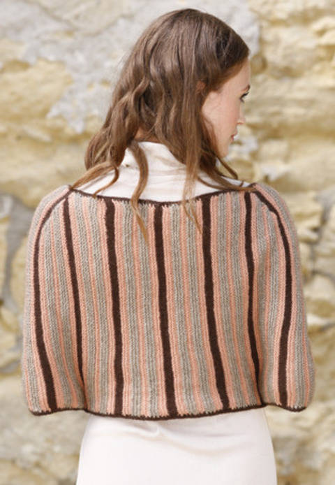 Isaura Cape - tricot chez Makerist
