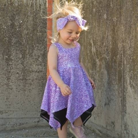"""Wilder Top & Dress"" KIDS Sewing Pattern and E-Book Tutorial at Makerist"