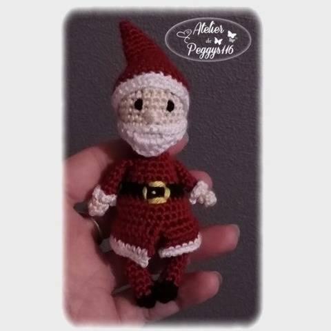Mini Père Noël chez Makerist