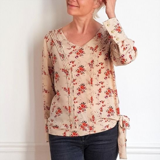 Blouse TOO MUCH chez Makerist - Image 1