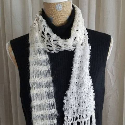Opulence Scarf - tutorial at Makerist