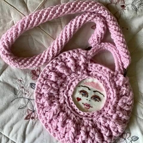 Pink Princess Purse at Makerist