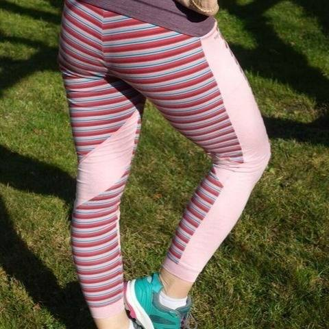 Leggings Nora Advanced Nähanleitung u. Schnittmuster bei Makerist