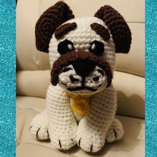 Tuto pdf ouafy le chien crochet chez Makerist - Image 1