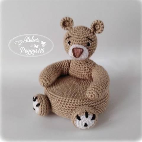 Mini fauteuil ours chez Makerist