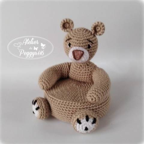 little bear chair at Makerist
