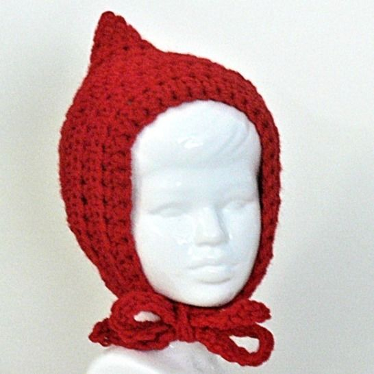 Easy Baby Pixie Bonnet Hat at Makerist - Image 1