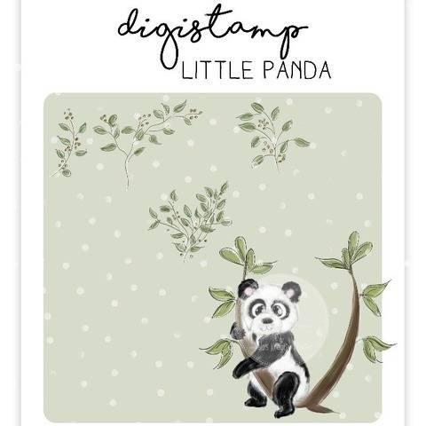 "Digistamp Yela`s Kreativ Atelier "" little Panda """