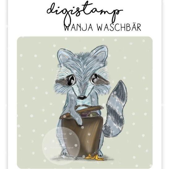 "Digistamp Yela`s Kreativ Atelier "" Wanja "" bei Makerist - Bild 1"