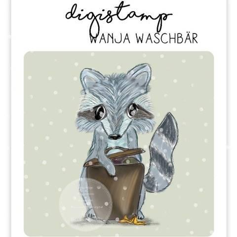 "Digistamp Yela`s Kreativ Atelier "" Wanja """