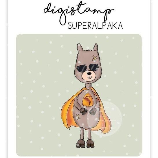 "Digistamp Yela`s Kreativ Atelier "" Superalpaka "" bei Makerist - Bild 1"