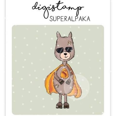 "Digistamp Yela`s Kreativ Atelier "" Superalpaka "" bei Makerist"