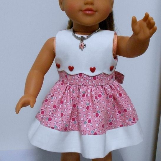 """Add-on Bibs to go with the 18"""" Dress at Makerist - Image 1"""