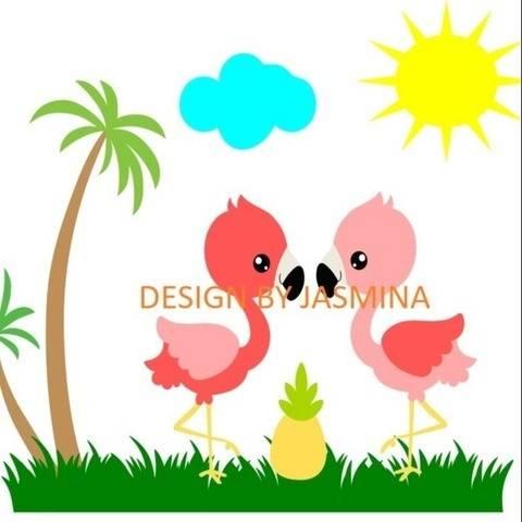 Plotterdatei  Flamingo  SVG