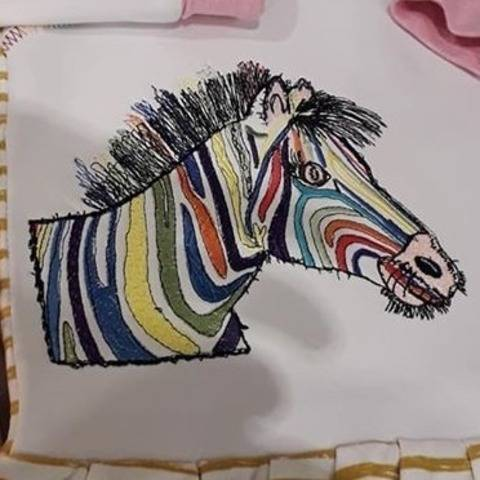 "Zebra ""Hingucker ♥ 18x13 bei Makerist"