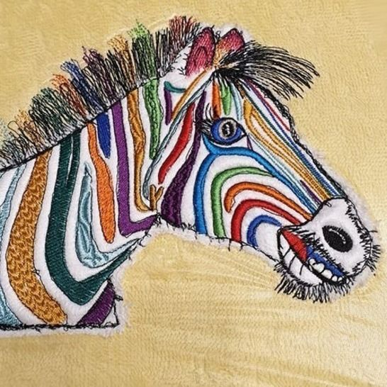 "Zebra ""Hingucker ♥ 23x18 bei Makerist - Bild 1"