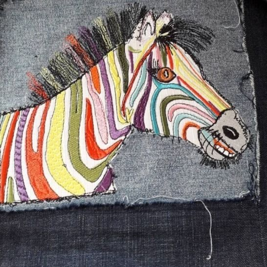 "Zebra ""Hingucker ♥ 25x20 bei Makerist - Bild 1"