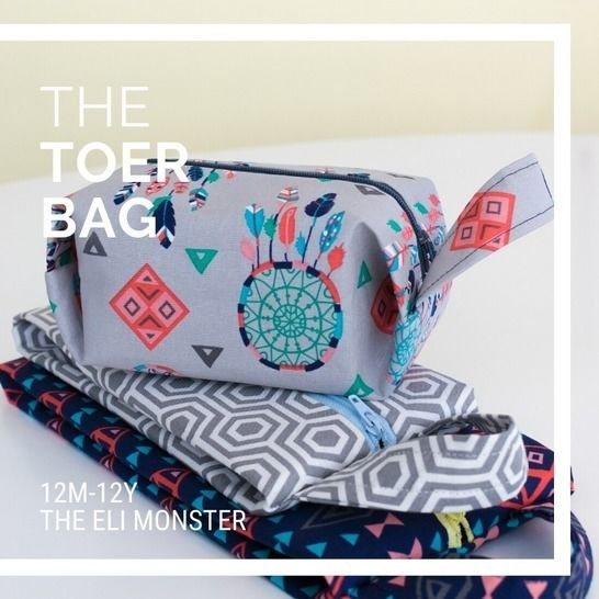The Toer Bag Sewing Pattern, 3 sizes at Makerist - Image 1
