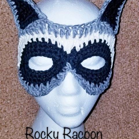 Racoon Costume Mask at Makerist
