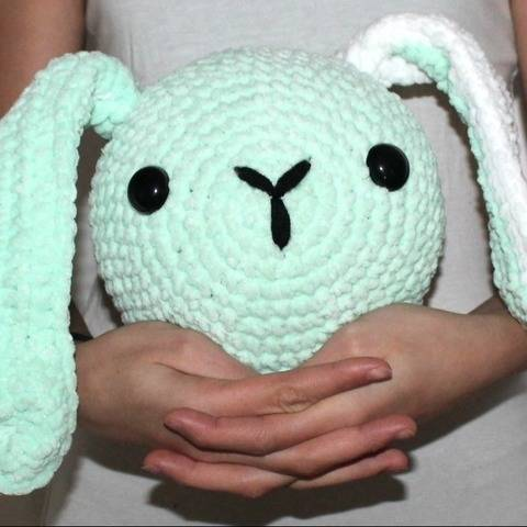 bally rabbit heads crochet pattern