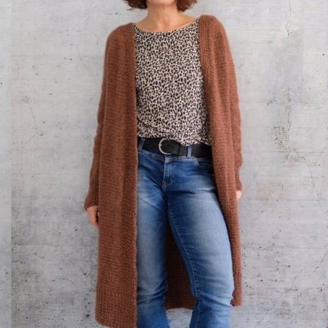 Stiina Cardigan bei Makerist