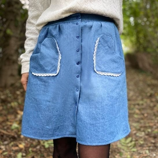Skirt - PDF pattern for women - Easy - Luxure at Makerist - Image 1
