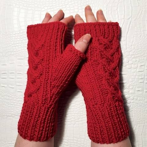 Maogann Fingerless Gloves  bei Makerist