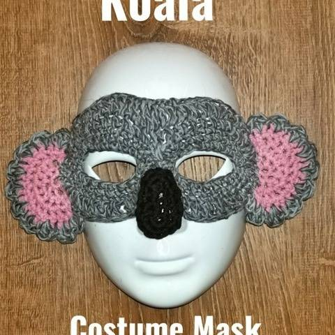 Koala Bear Costume Mask at Makerist