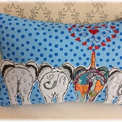 Elefanten Popos ♥ 10x10+30x18 bei Makerist