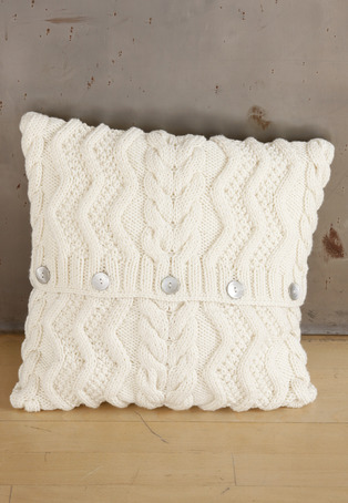 Housse Coussin - tricot