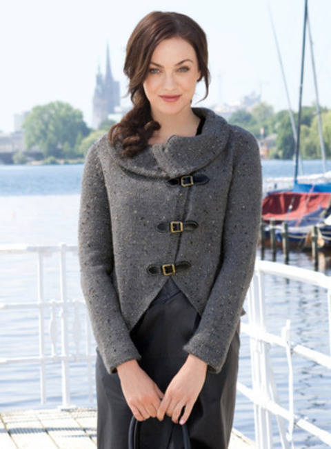 Jacklyn Veste, Cardigan chez Makerist