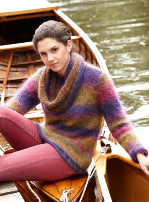 Riley pull femme - tricot chez Makerist