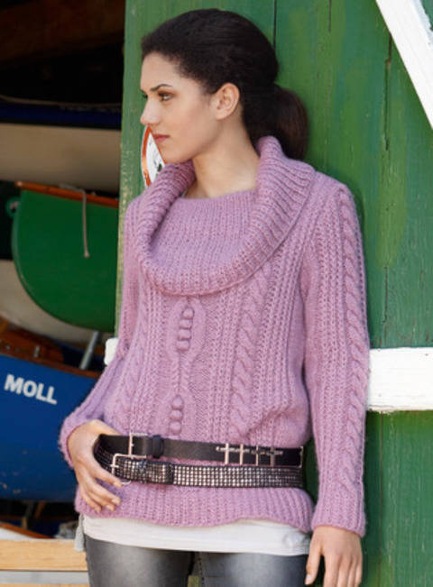 Cameron Pull femme - tricot