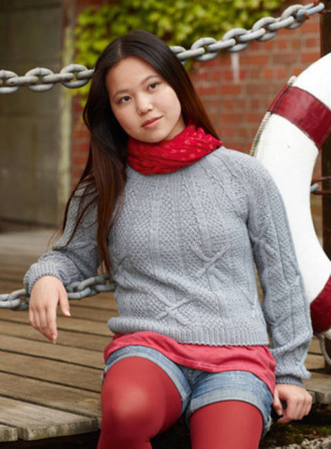 Phuong-Anh Pull, Pull-over chez Makerist