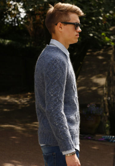 Avery Pull homme - tricot chez Makerist - Image 1