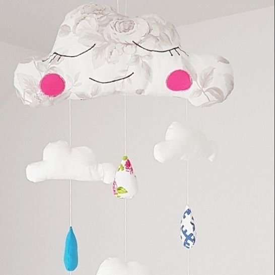 Cloud baby mobile sewing pattern at Makerist - Image 1