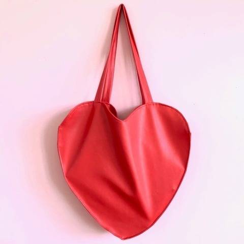 DIY - Le grand sac cœur