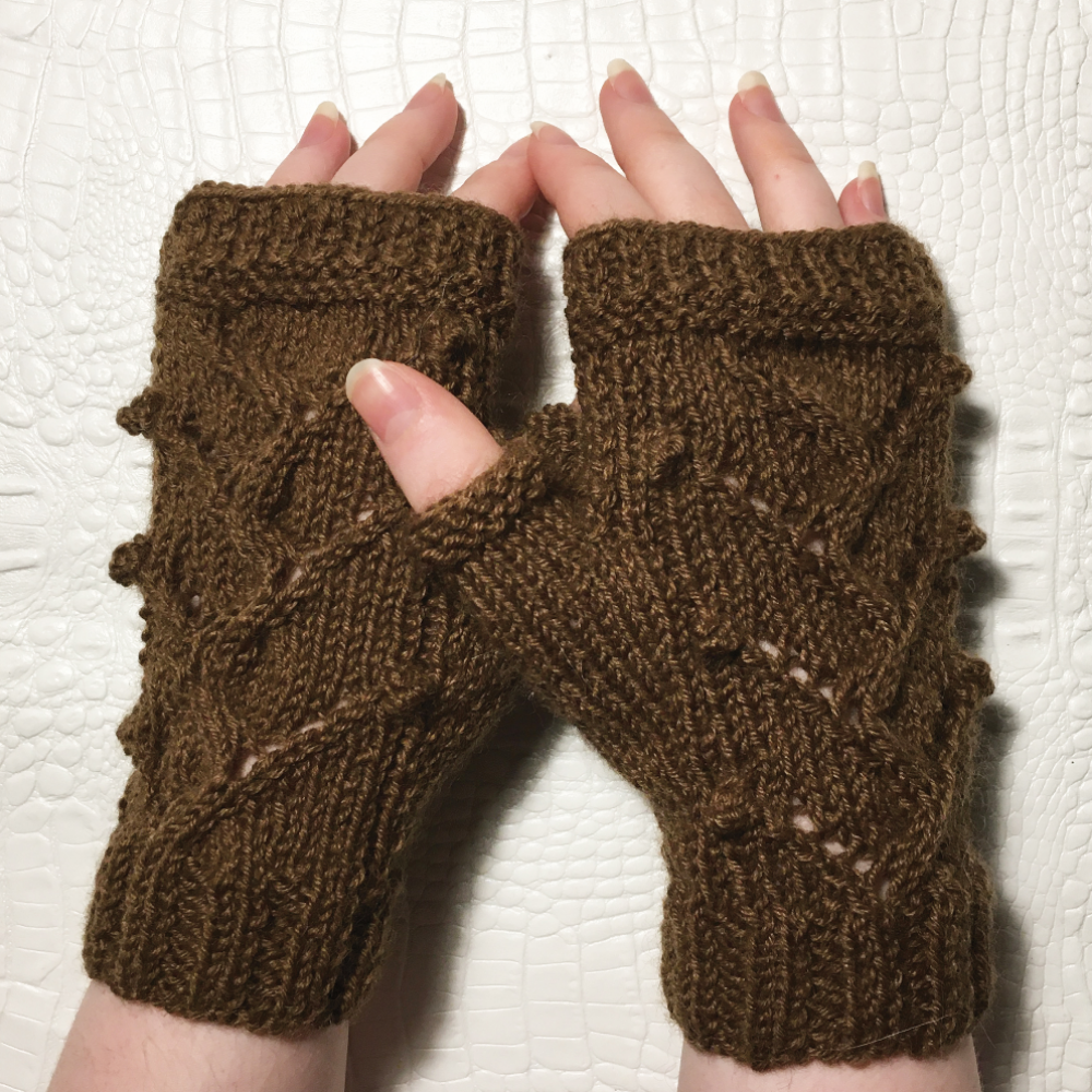 Isabelle - Fingerless gloves - Sizes XS - S - M - L