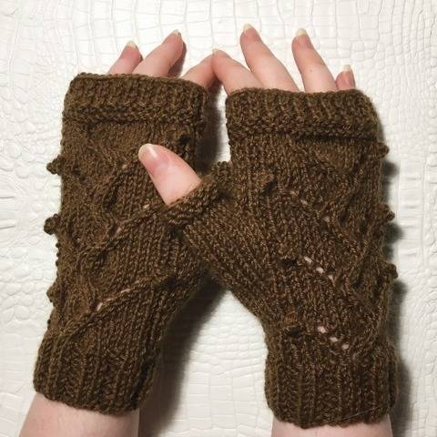 Isabelle - Fingerless gloves - Sizes XS - S - M - L bei Makerist