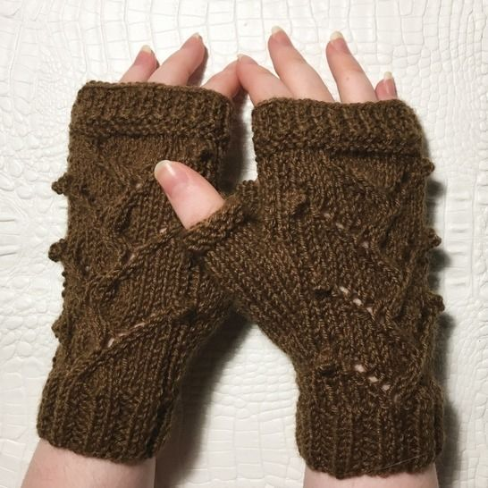 Isabelle - my Fingerless gloves - Sizes XS - S - M - L at Makerist - Image 1