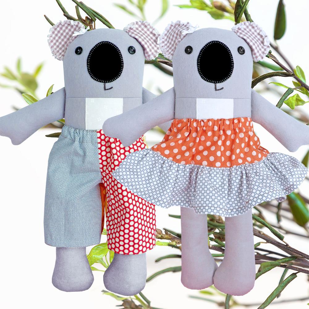 Archibald & Matilda Koala - Soft Toy Pattern