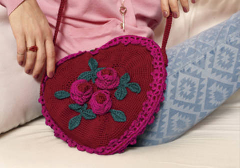 Sweetheart Sac - crochet chez Makerist