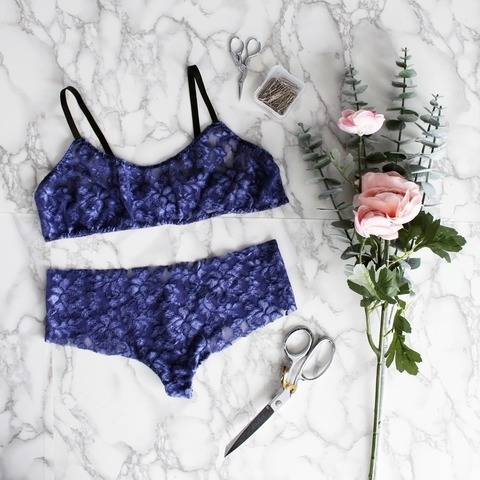 Beginner Lingerie Sewing Pattern   at Makerist
