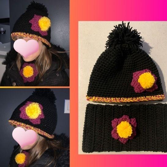 TUTO PDF crochet bonnet tour de cou chez Makerist - Image 1