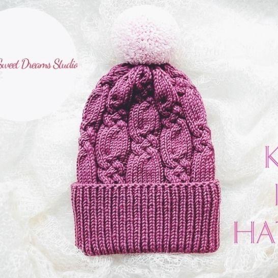 "BEANIE ""AURORA"" PDF Knitting Pattern at Makerist - Image 1"