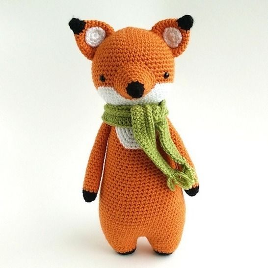 Fox Crochet Amigurumi Pattern at Makerist - Image 1