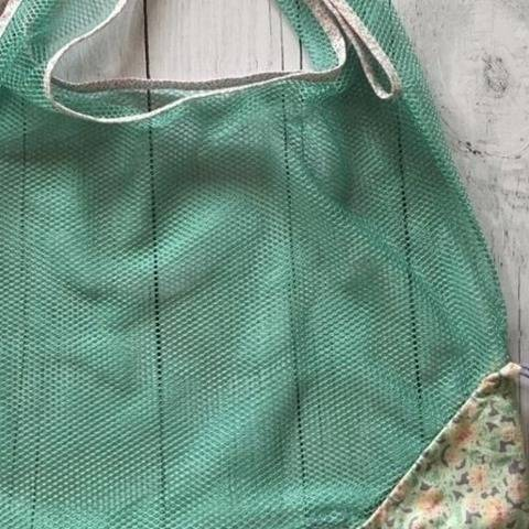 Eco-friendly shopping bag pattern