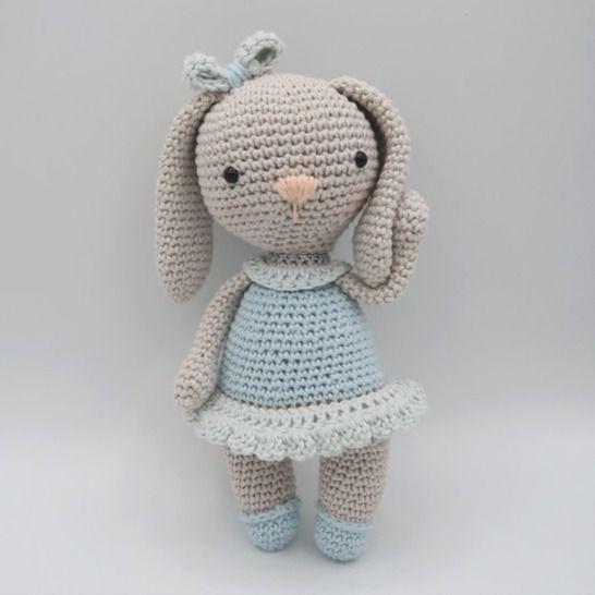 Amigurumi lapin au crochet•Câline, la lapine chez Makerist - Image 1